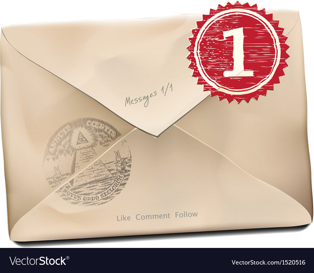E-mail old new folder message vector | Price: 1 Credit (USD $1)