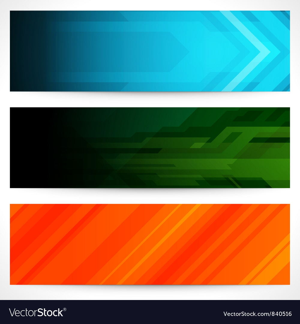 Futuristic banners vector | Price: 1 Credit (USD $1)