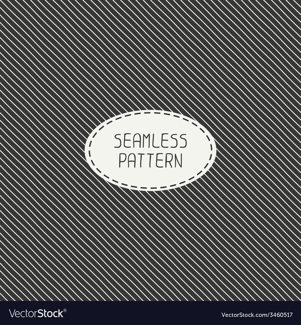 Retro diagonal stripes geometric seamless pattern vector | Price: 1 Credit (USD $1)