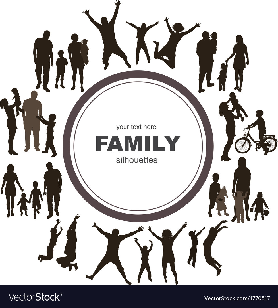 Young family concept vector | Price: 1 Credit (USD $1)