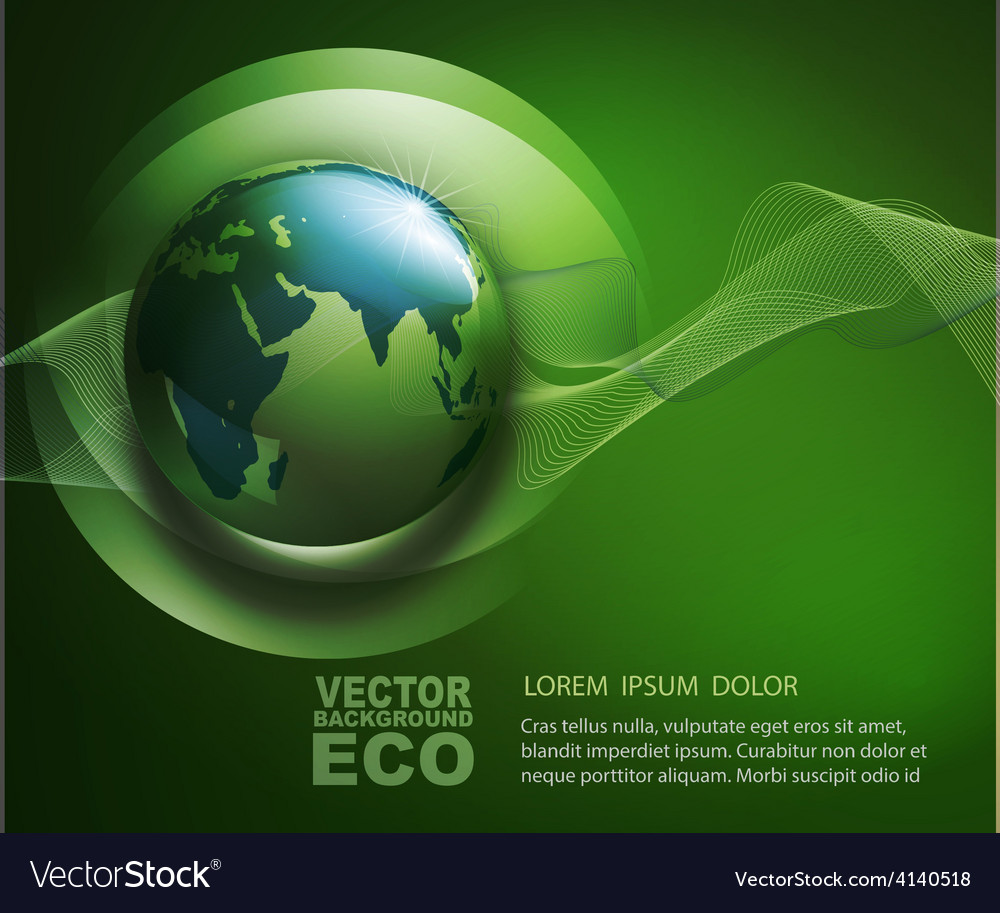 Abstract background for ecological design vector | Price: 3 Credit (USD $3)