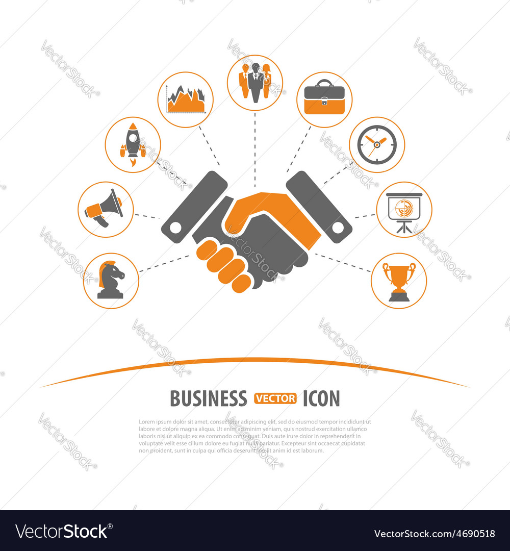 Business strategy concept vector | Price: 1 Credit (USD $1)