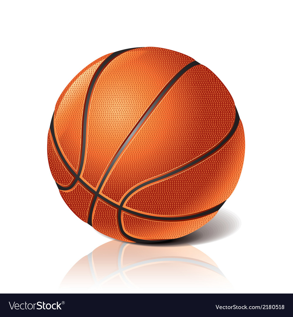 Object basketball ball vector | Price: 1 Credit (USD $1)