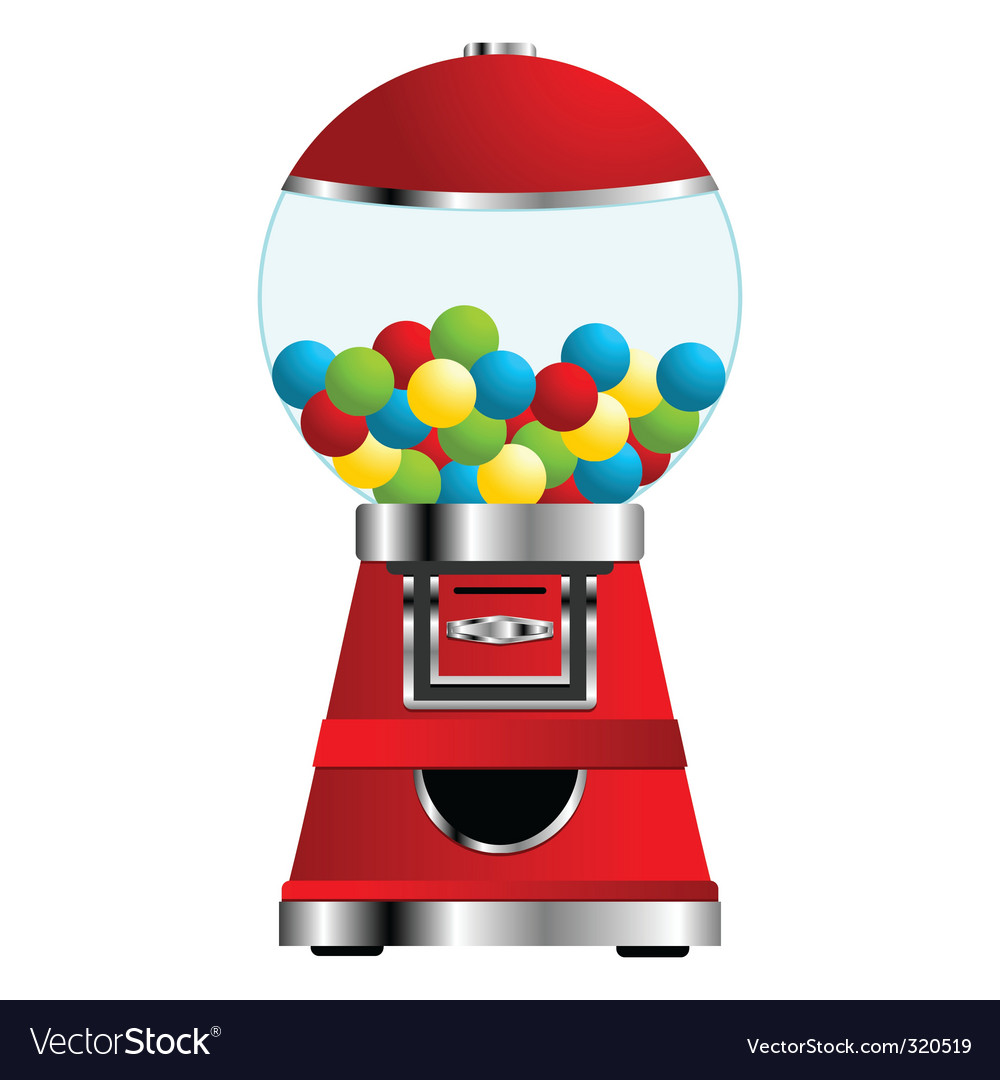 Gumball machine vector | Price: 1 Credit (USD $1)