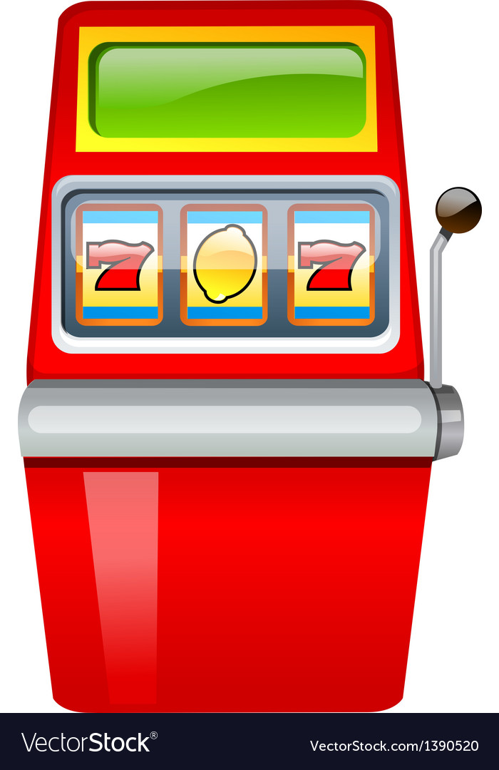 Icon gamble machine vector | Price: 1 Credit (USD $1)