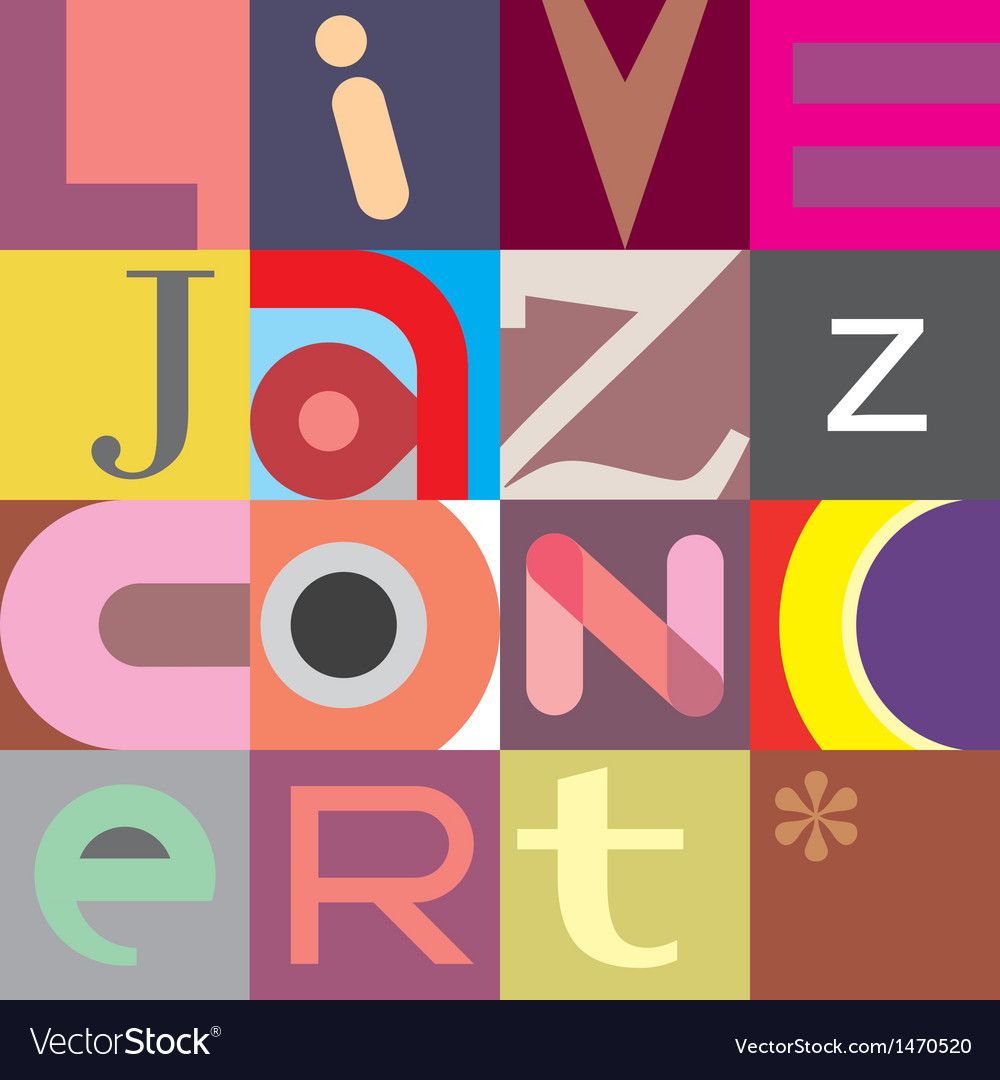 Jazz live vector | Price: 1 Credit (USD $1)
