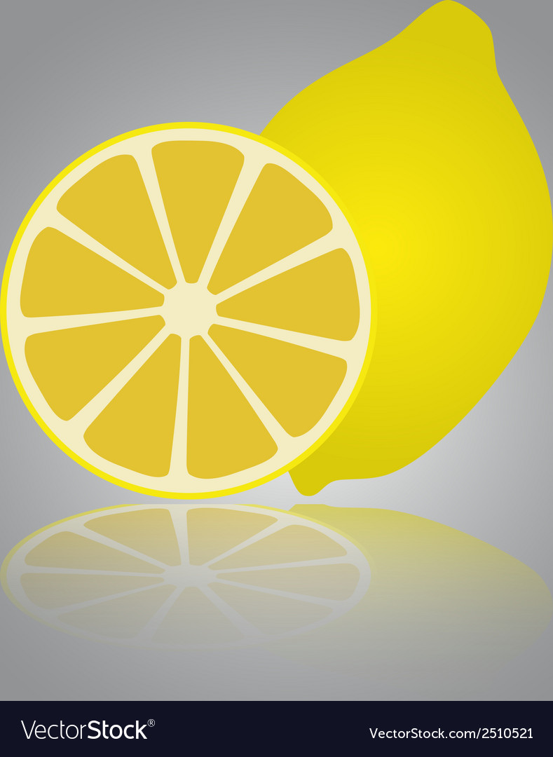 Colorful lemon eps10 vector | Price: 1 Credit (USD $1)
