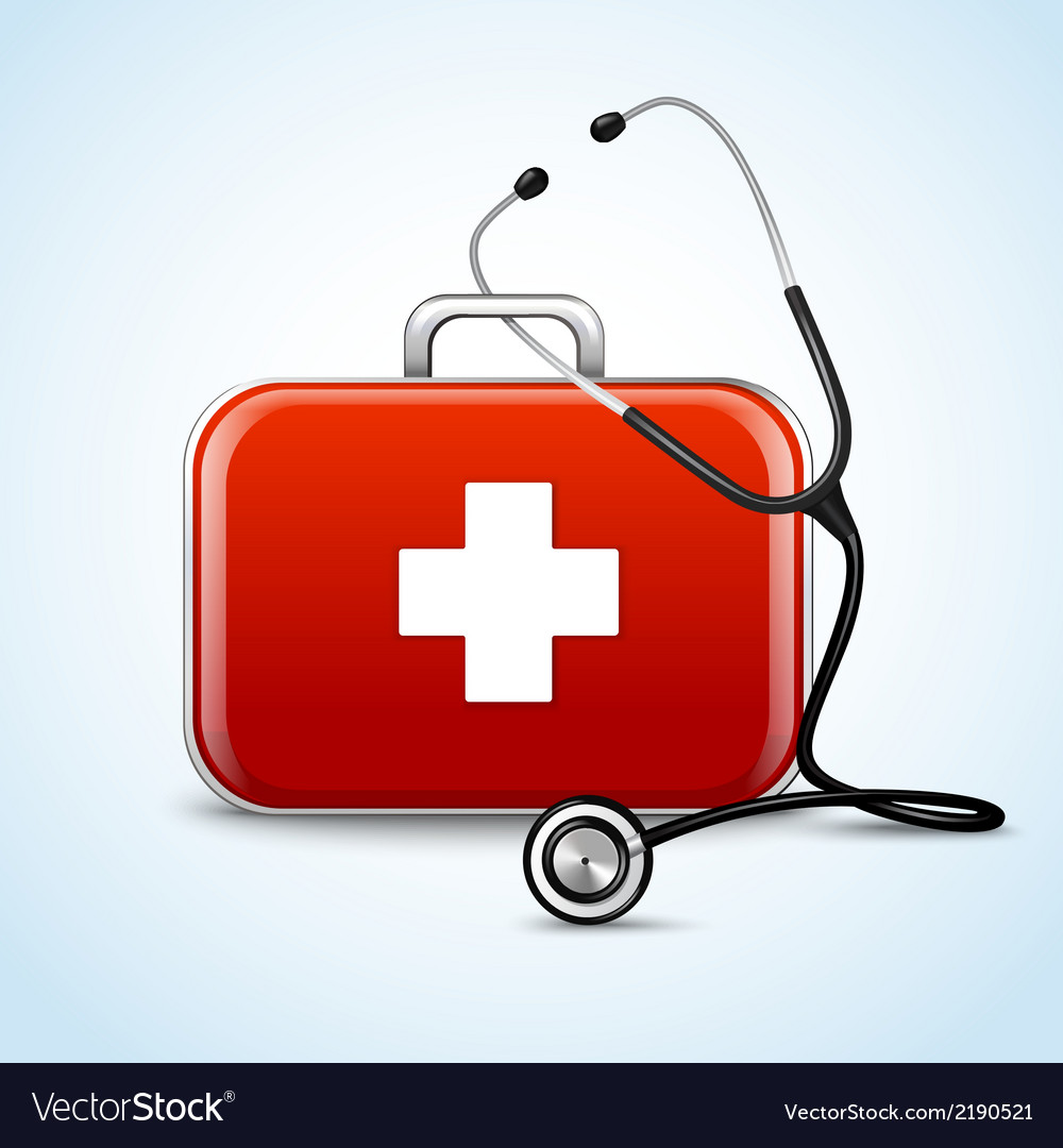 First aid healthcare concept vector | Price: 1 Credit (USD $1)