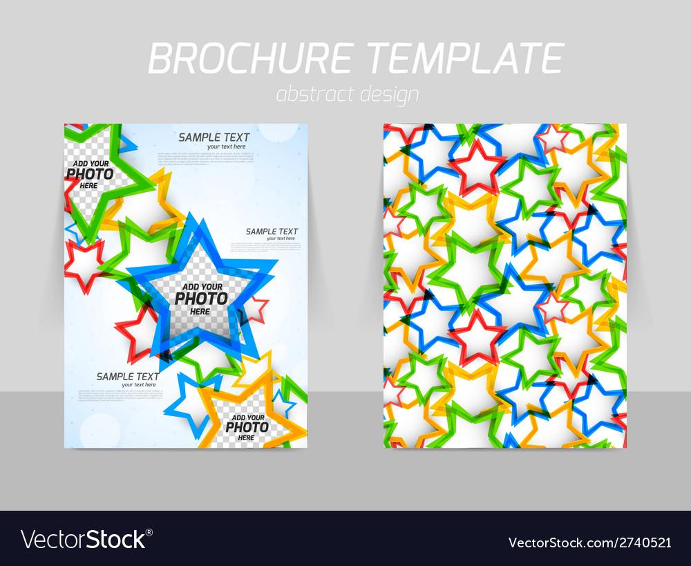 Flyer template design vector   Price: 1 Credit (USD $1)