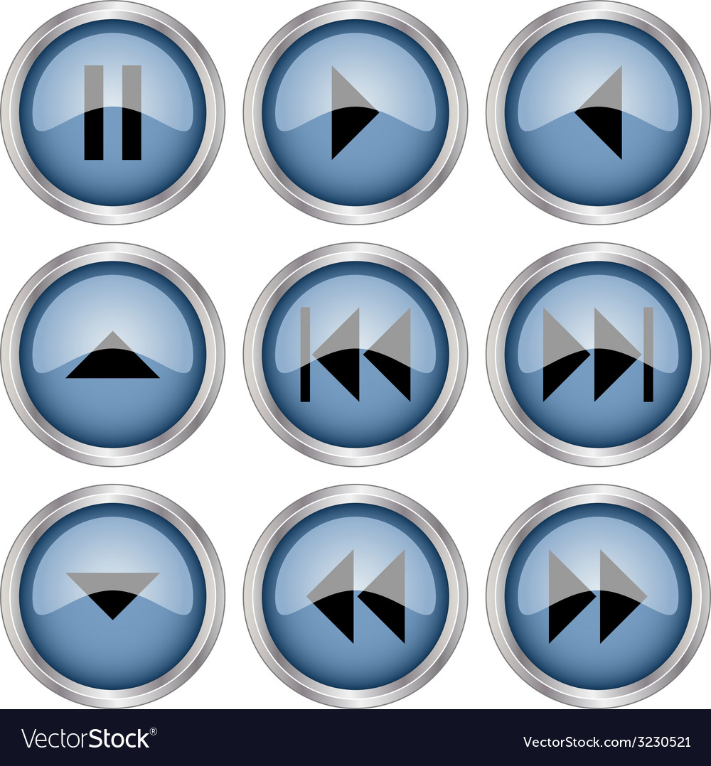 Glossy buttons vector   Price: 1 Credit (USD $1)
