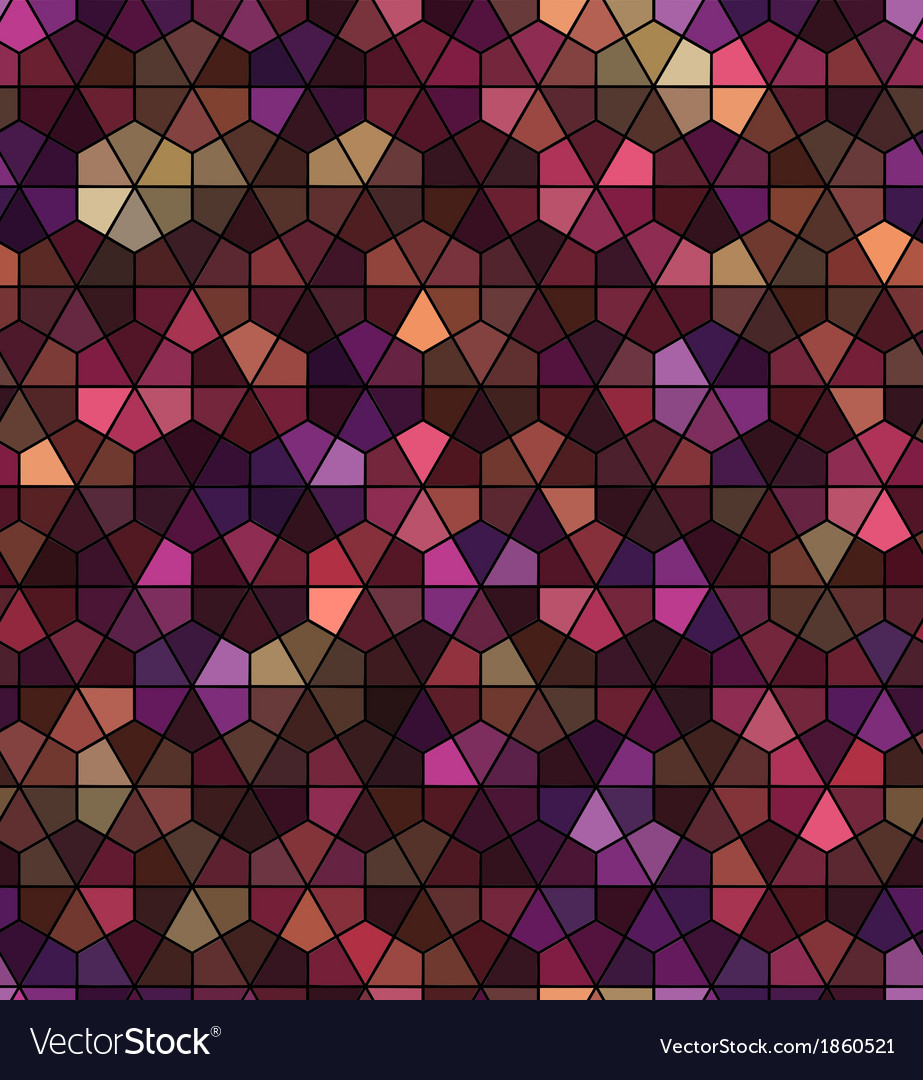 Seamless black hexagonal pattern vector | Price: 1 Credit (USD $1)
