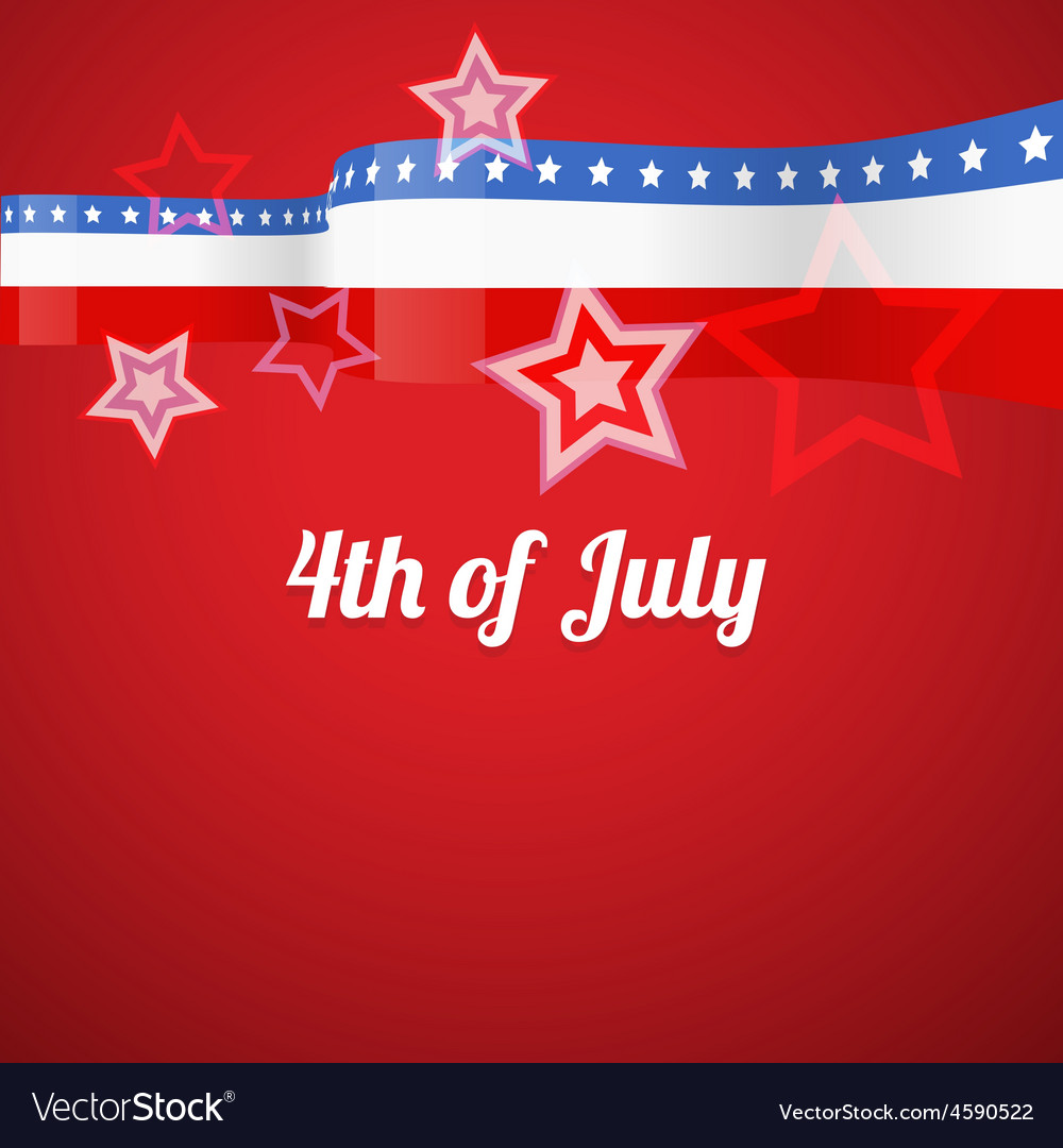 American 4th of july vector | Price: 1 Credit (USD $1)