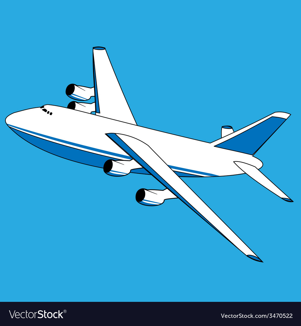 Cargo plane vector | Price: 1 Credit (USD $1)