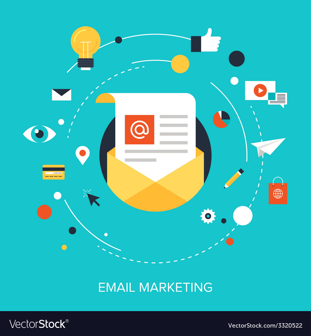 E-mail marketing vector | Price: 1 Credit (USD $1)