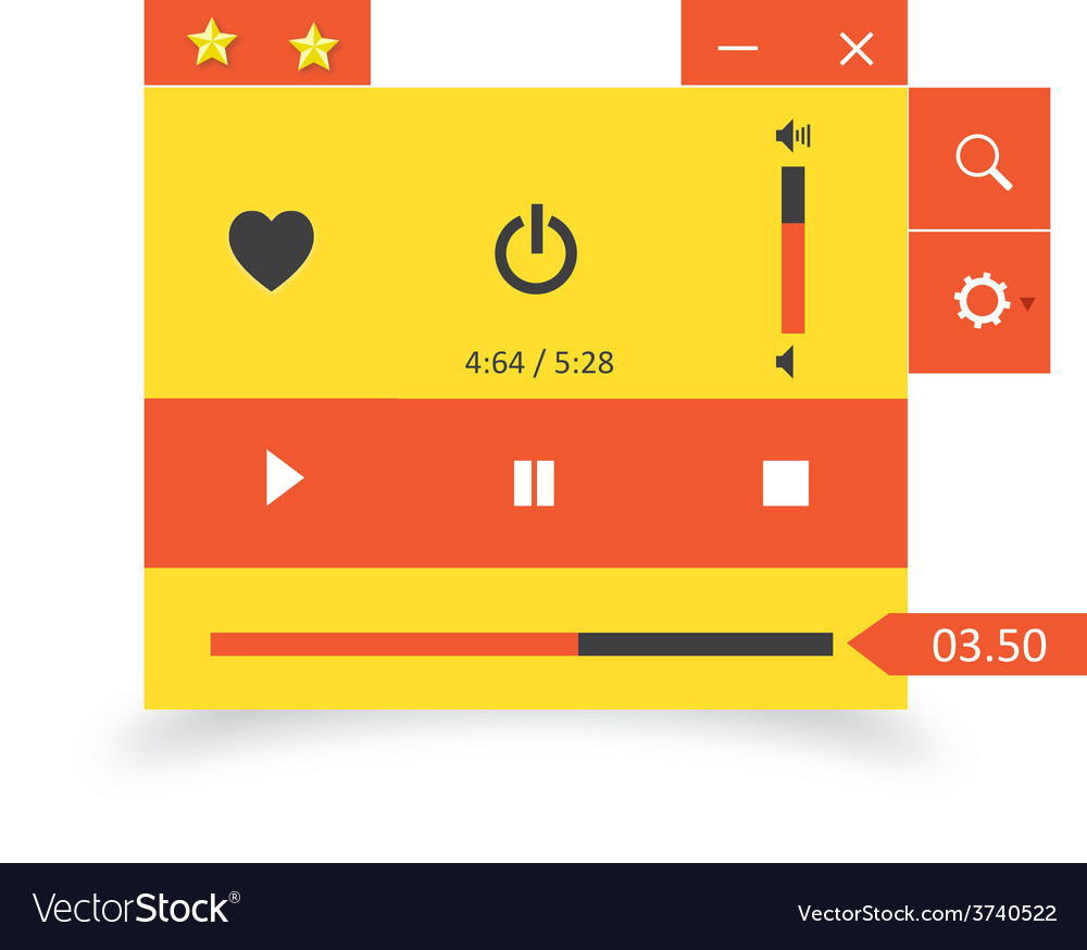 Music player 30 vector | Price: 1 Credit (USD $1)