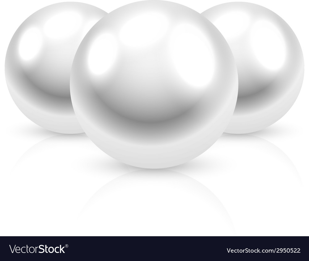 Pearls vector | Price: 1 Credit (USD $1)