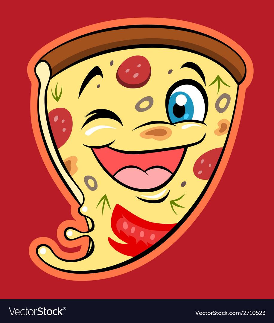 Cute pizza vector   Price: 1 Credit (USD $1)