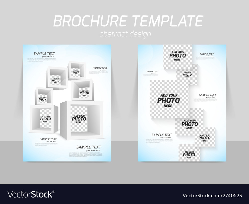 Flyer template design vector | Price: 1 Credit (USD $1)