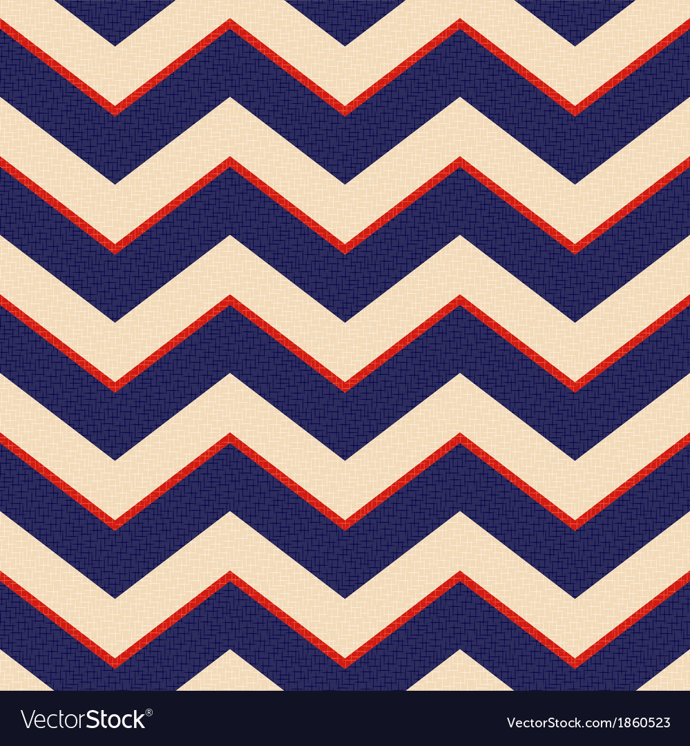 Seamless patriotic chevron background vector | Price: 1 Credit (USD $1)