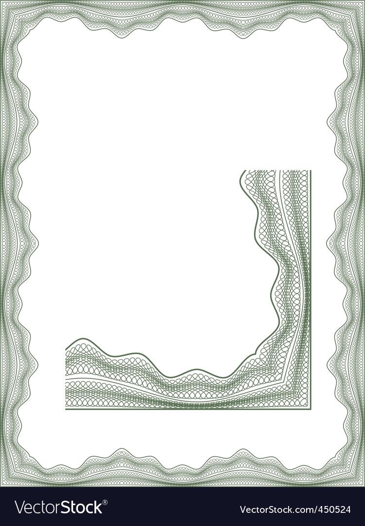 Classic guilloche vector | Price: 1 Credit (USD $1)