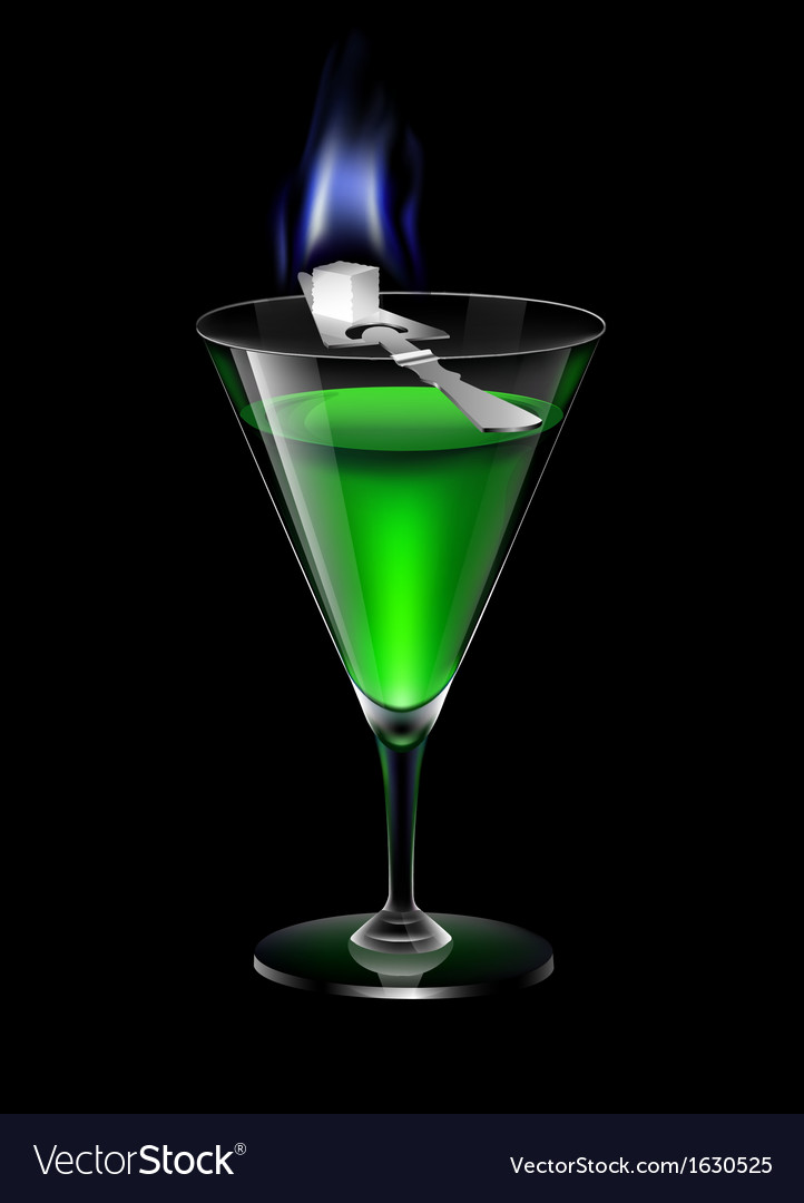 Absinthe vector | Price: 1 Credit (USD $1)