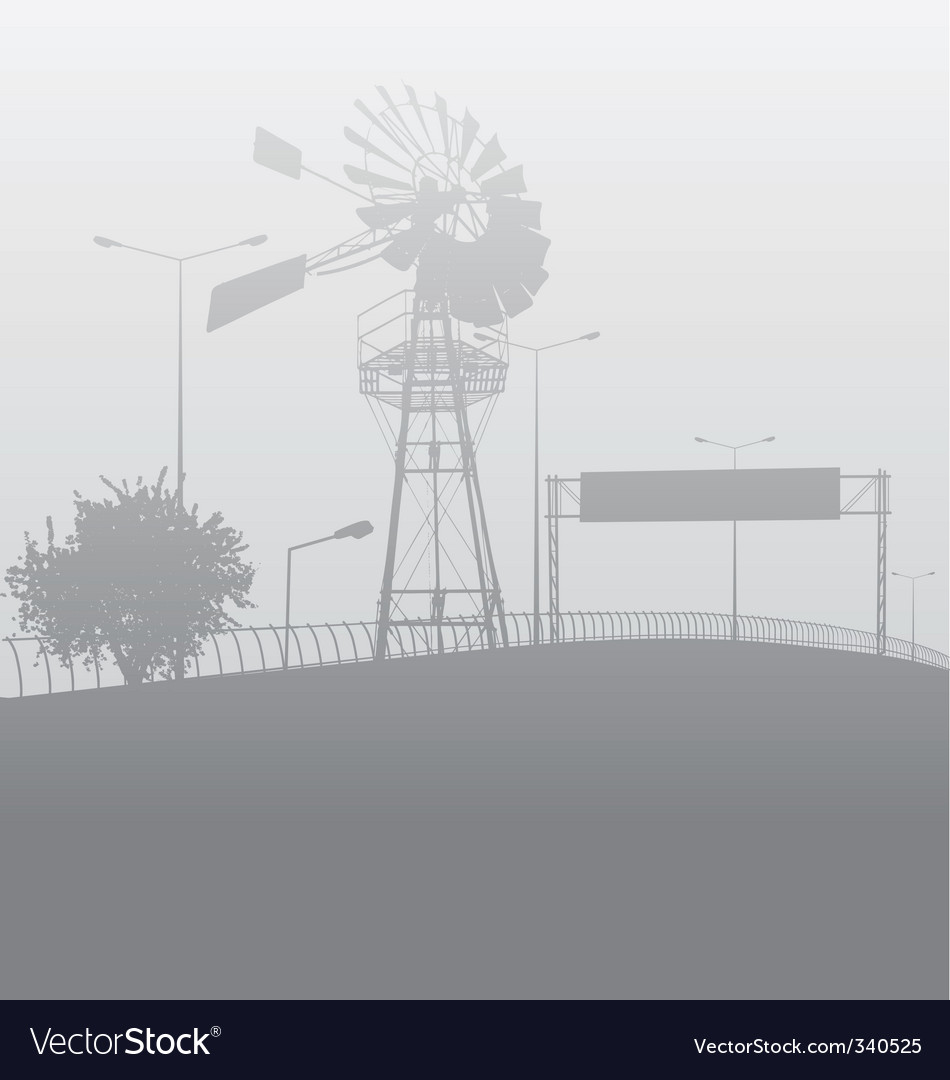 City smog or fog vector | Price: 1 Credit (USD $1)