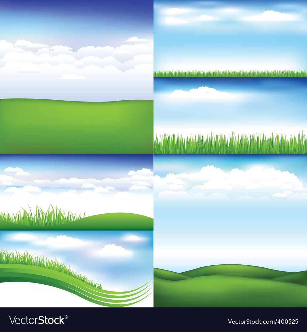 Landscapes vector | Price: 1 Credit (USD $1)