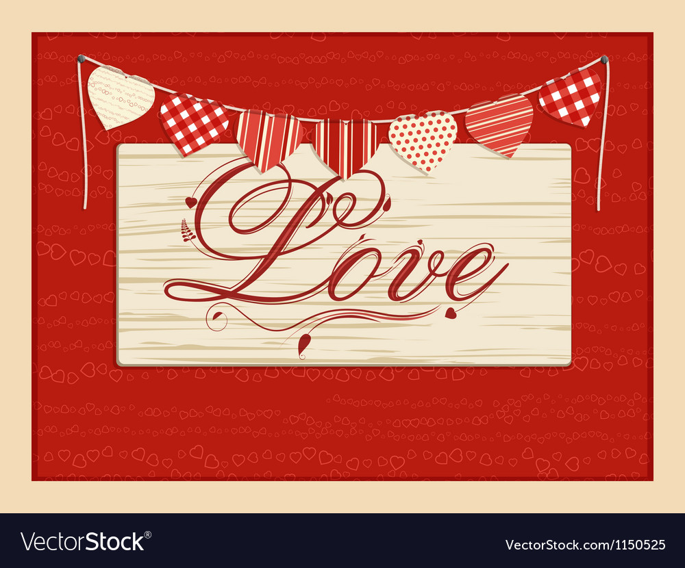 Love script background vector | Price: 1 Credit (USD $1)