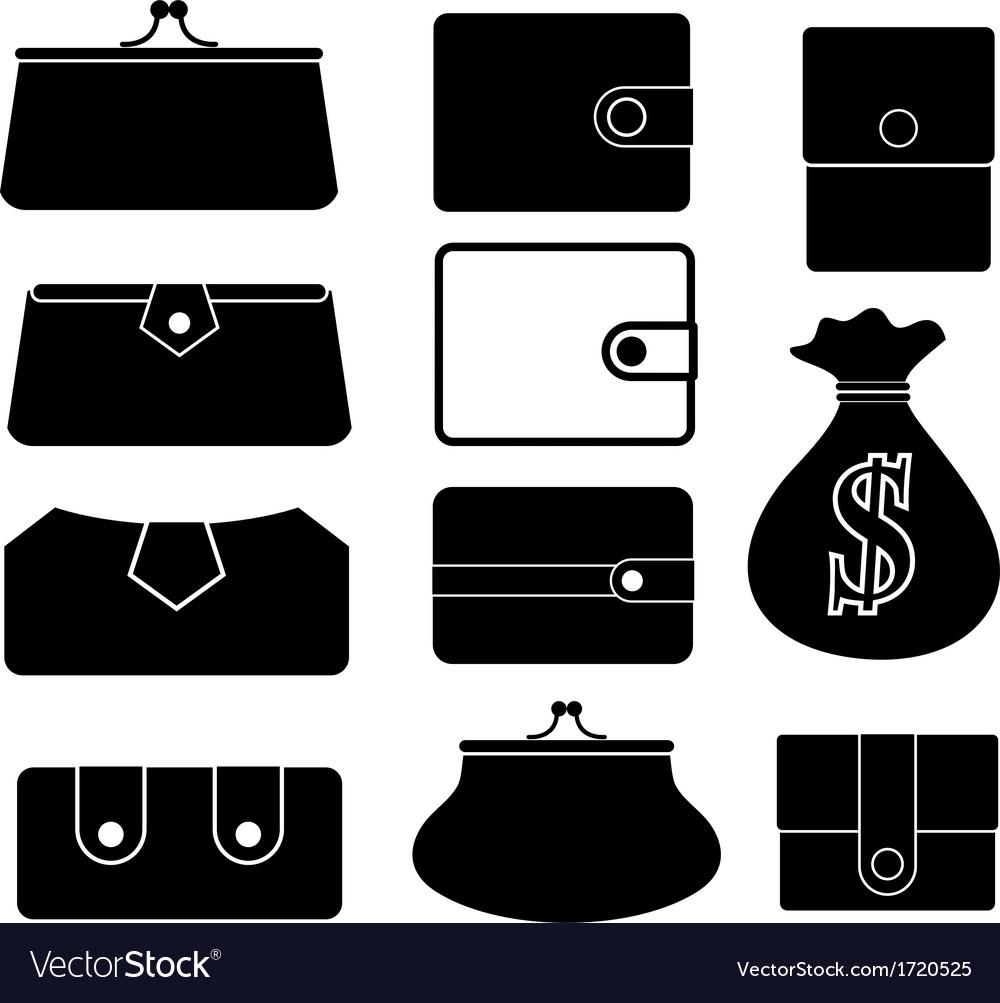 Purse vector   Price: 1 Credit (USD $1)