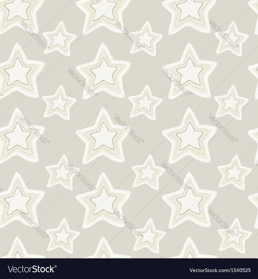 Seamless pattern of stars vector | Price: 1 Credit (USD $1)