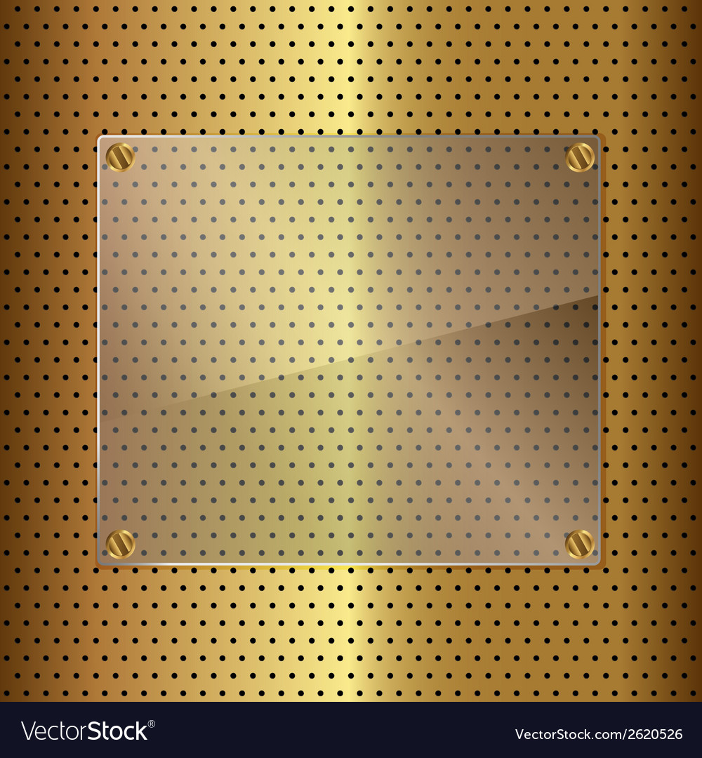 Gold and glass vector | Price: 1 Credit (USD $1)