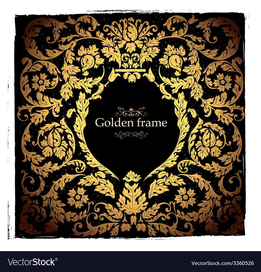 Golden pattern vector   Price: 1 Credit (USD $1)