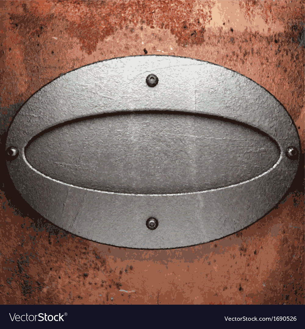 Old metal background vector | Price: 1 Credit (USD $1)