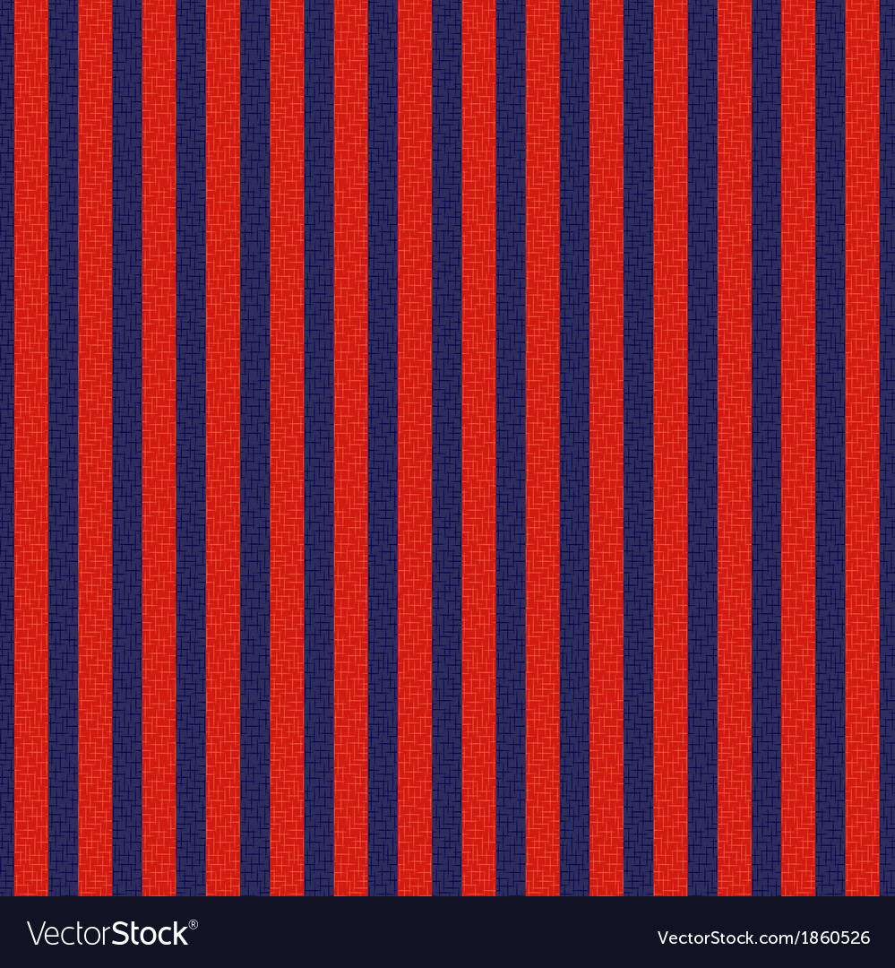 Seamless red and blue vertical stripes vector | Price: 1 Credit (USD $1)