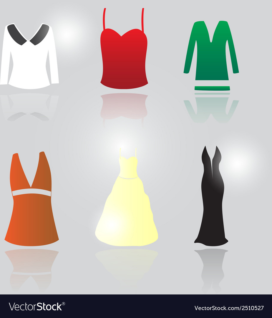 Womens clothing eps10 vector | Price: 1 Credit (USD $1)