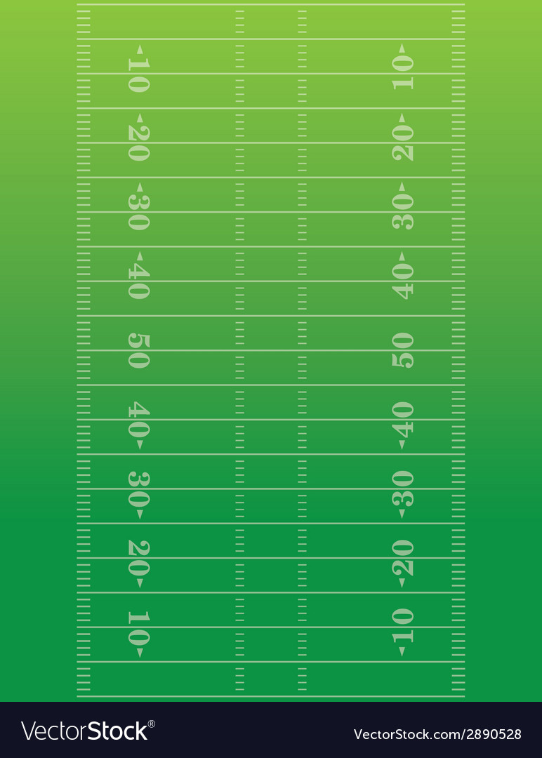 American football field background vector | Price: 1 Credit (USD $1)