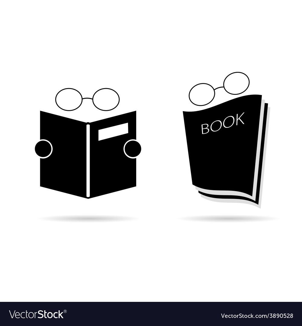 Book black vector | Price: 1 Credit (USD $1)