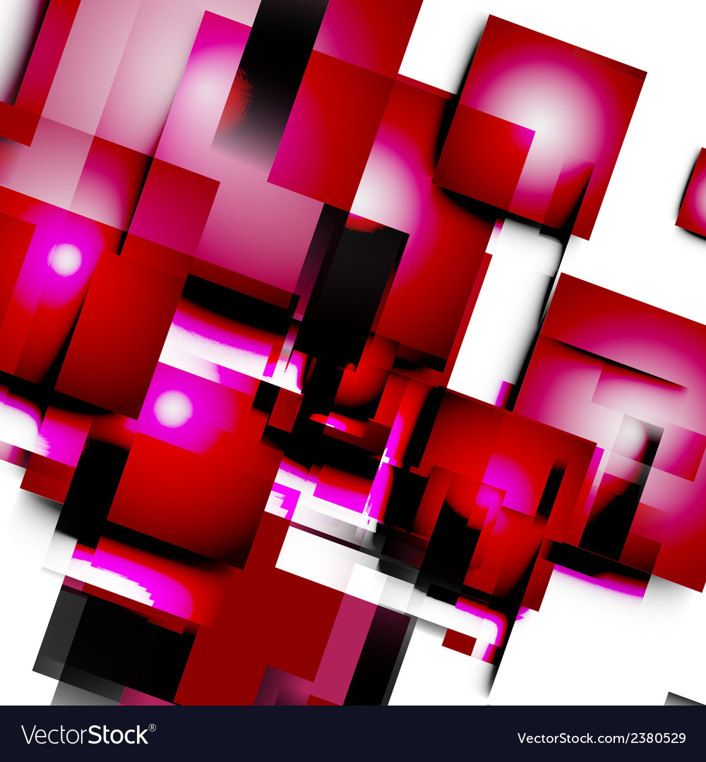 Abstract lines and squares vector | Price: 1 Credit (USD $1)