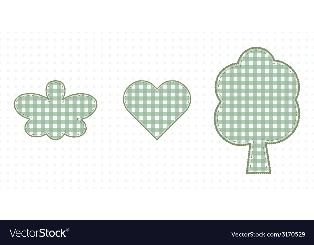 Butterfly heart and tree love of nature cute baby vector | Price: 1 Credit (USD $1)