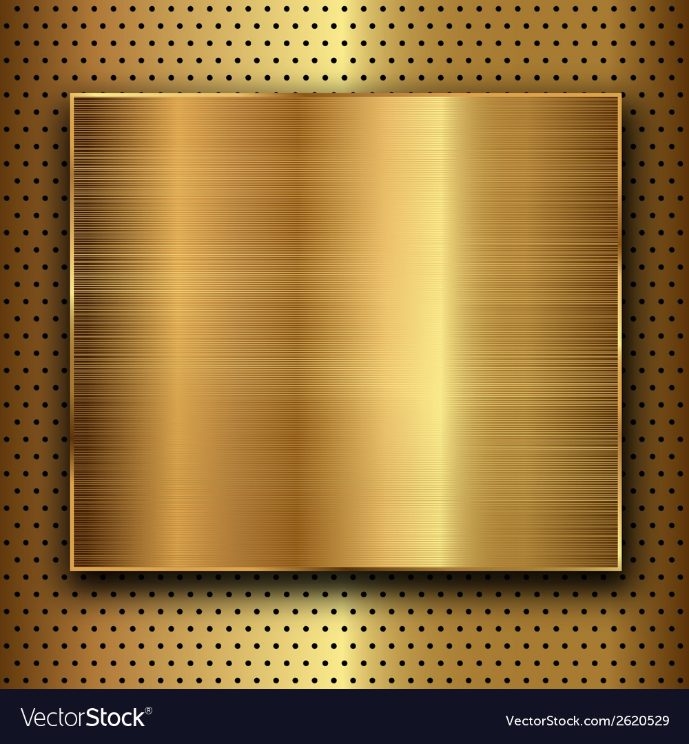 Gold metal vector | Price: 1 Credit (USD $1)