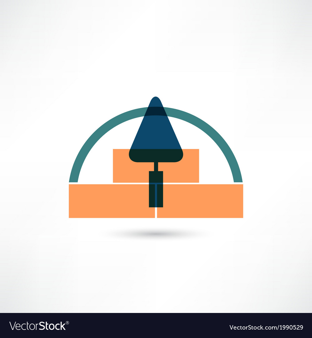 Trowel icon vector | Price: 1 Credit (USD $1)
