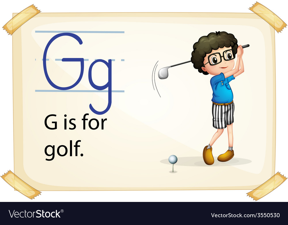 Alphabet g vector | Price: 3 Credit (USD $3)