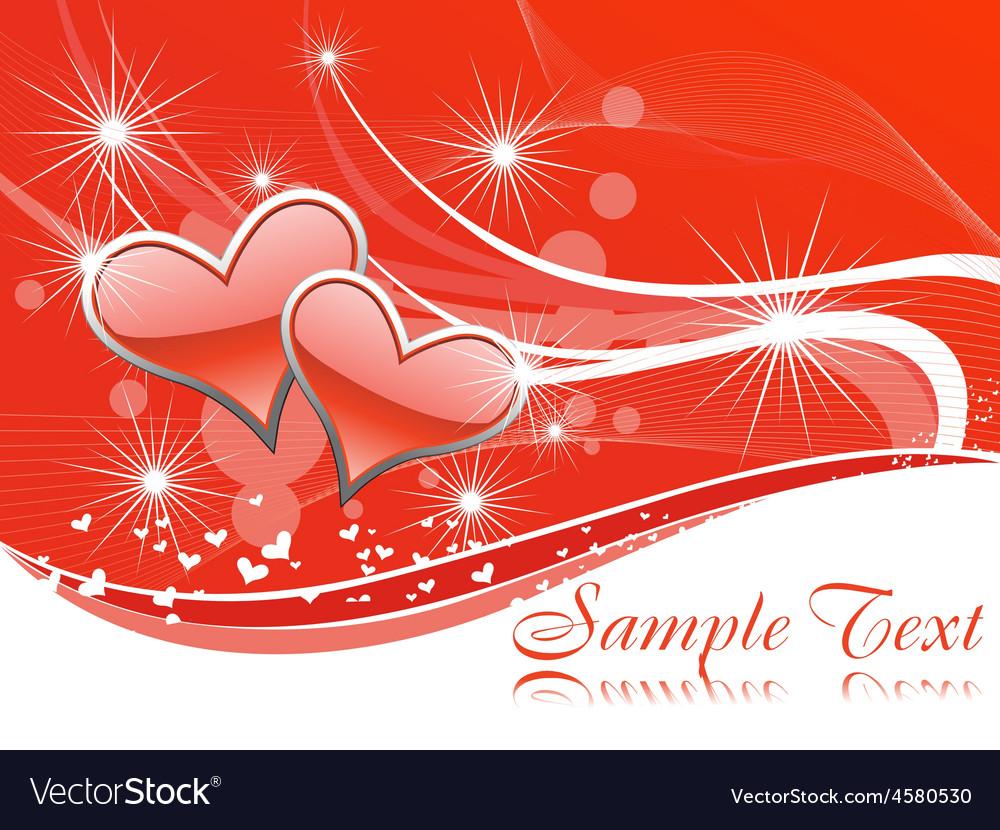 Beautiful heart vector