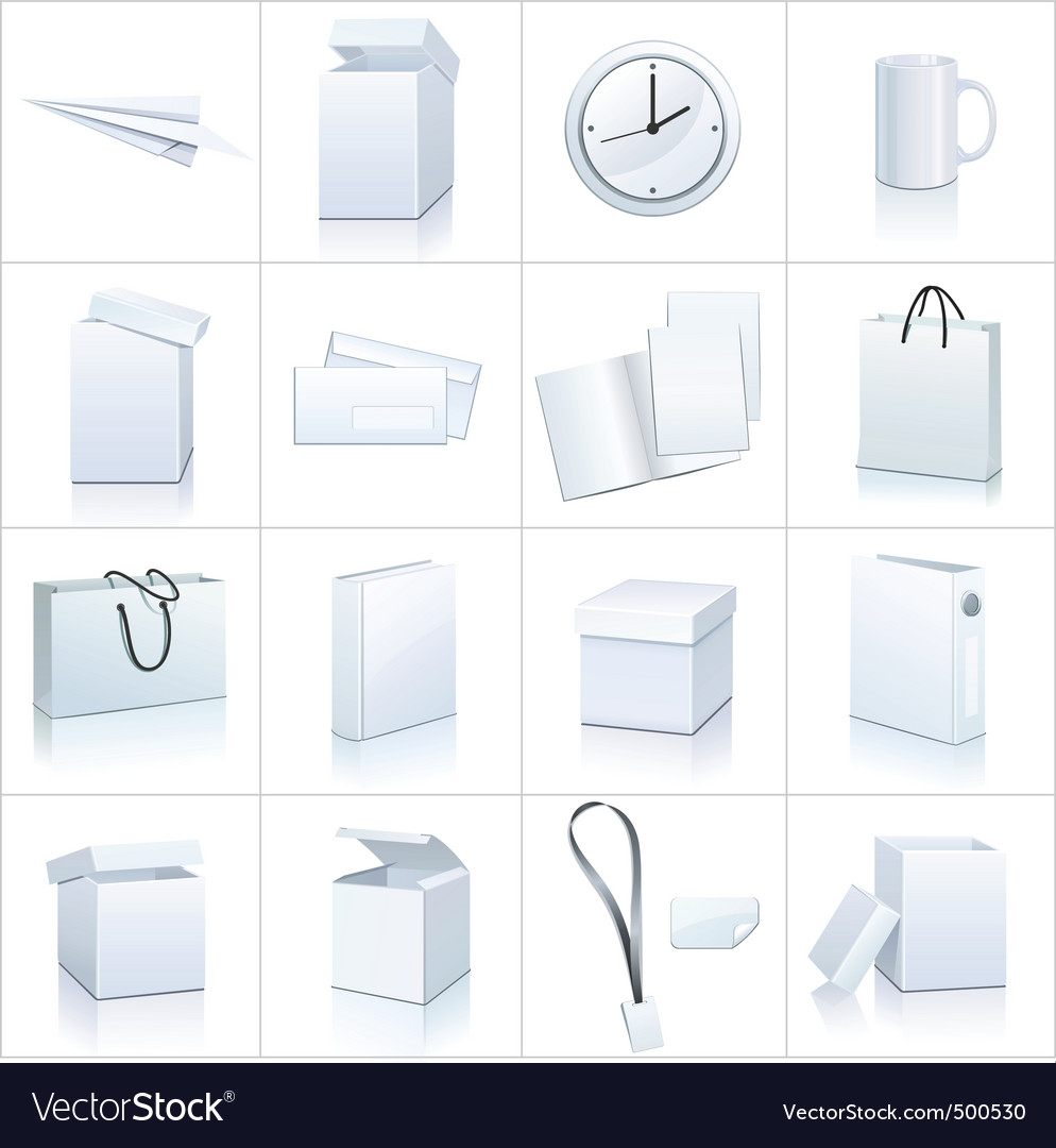 Blank objects vector | Price: 1 Credit (USD $1)