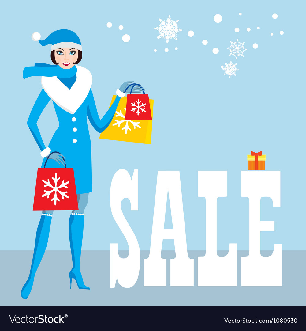 Christmas sale vector | Price: 1 Credit (USD $1)