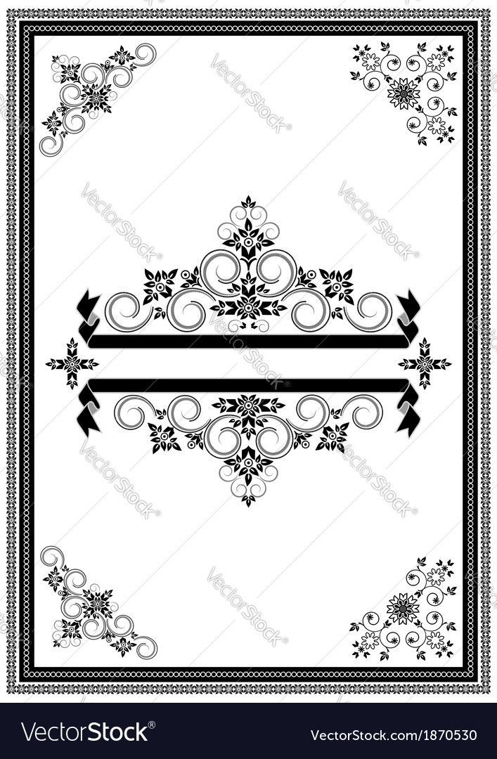 Corners ornaments and banners vector | Price: 1 Credit (USD $1)