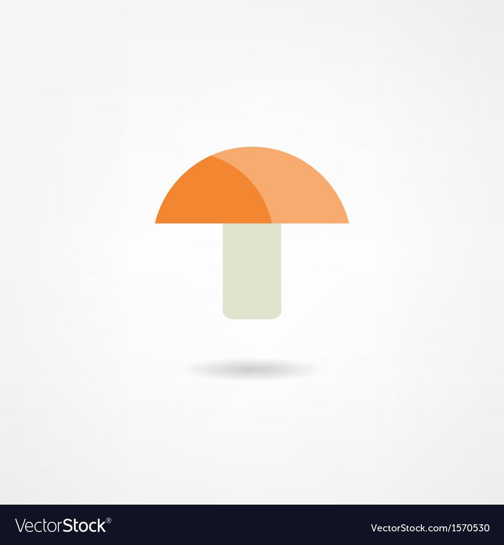 Mushroom icon vector | Price: 1 Credit (USD $1)