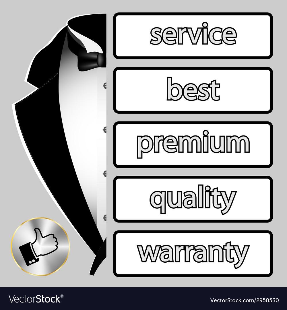 Tuxedo best vector | Price: 1 Credit (USD $1)