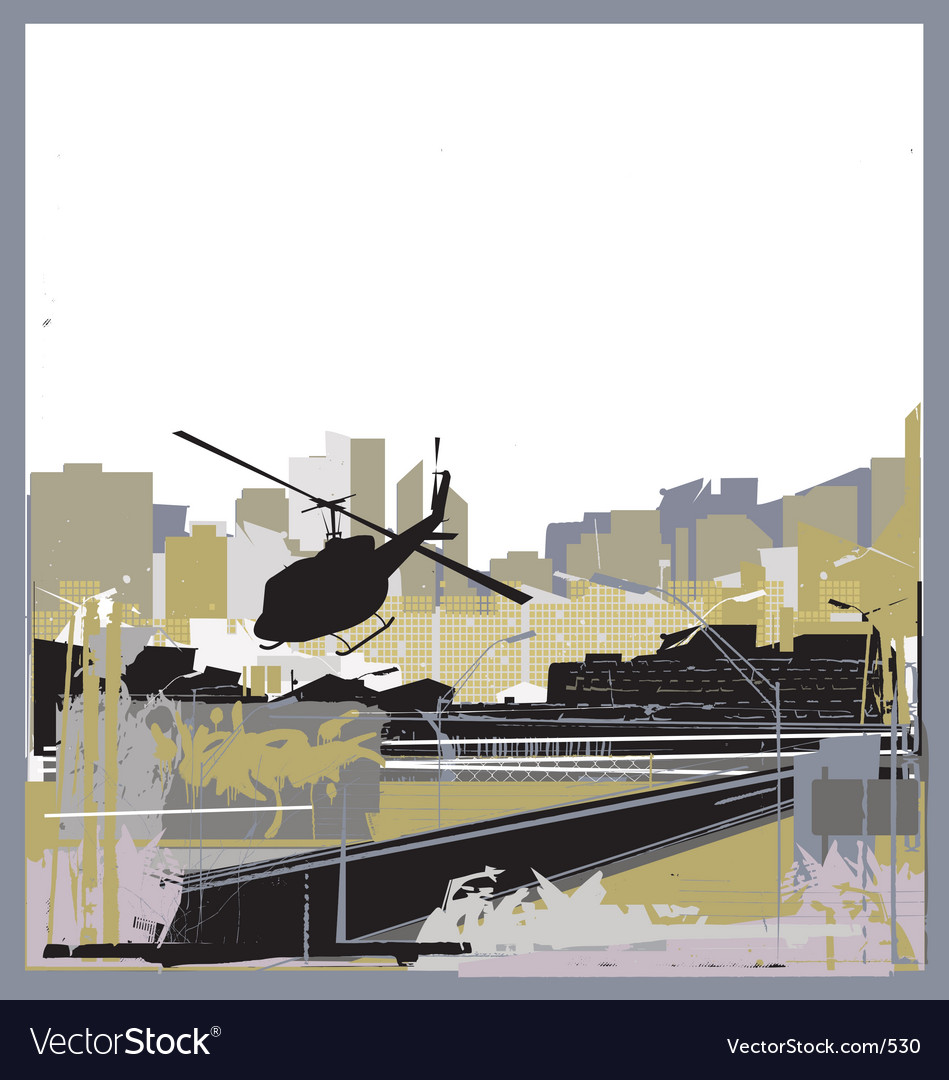 Urban jungle vector | Price: 1 Credit (USD $1)