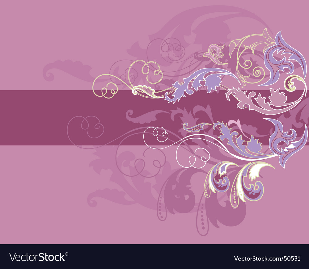 Design floral elements vector | Price: 1 Credit (USD $1)